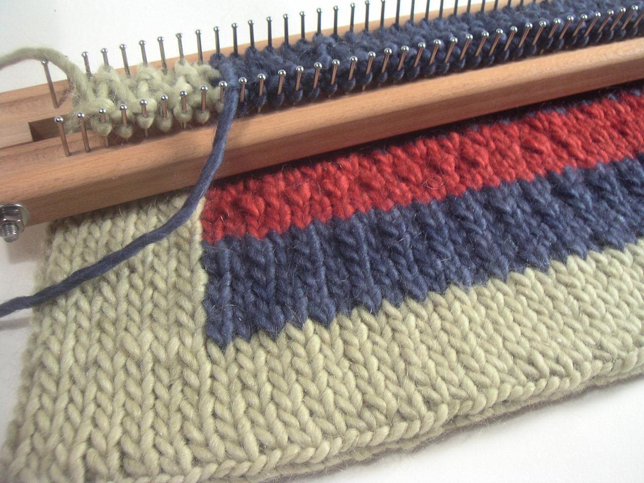 How To Knit A Rug November A 2006 A Knitting Board Blog