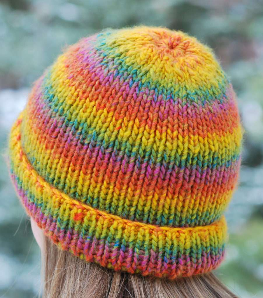 Perfect Fit Hat On Double Knit Loom Kb Looms Blog