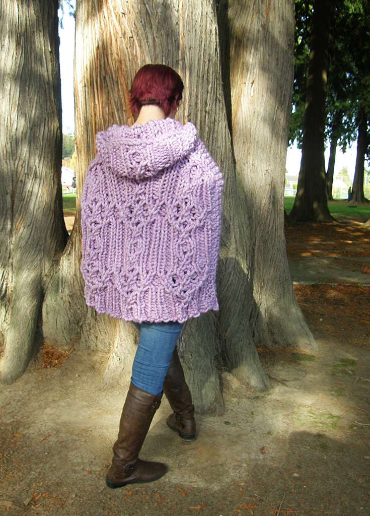 Fairhaven Pullover, back