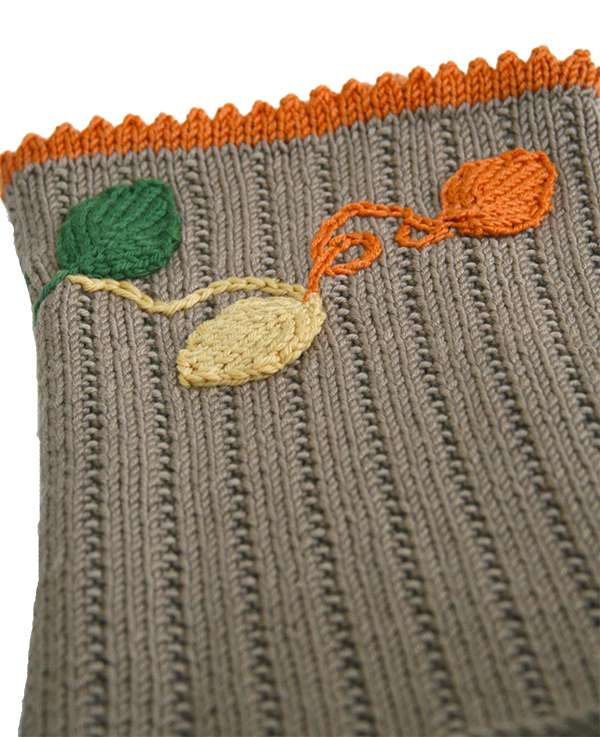 Fall Cowl Leaves layout