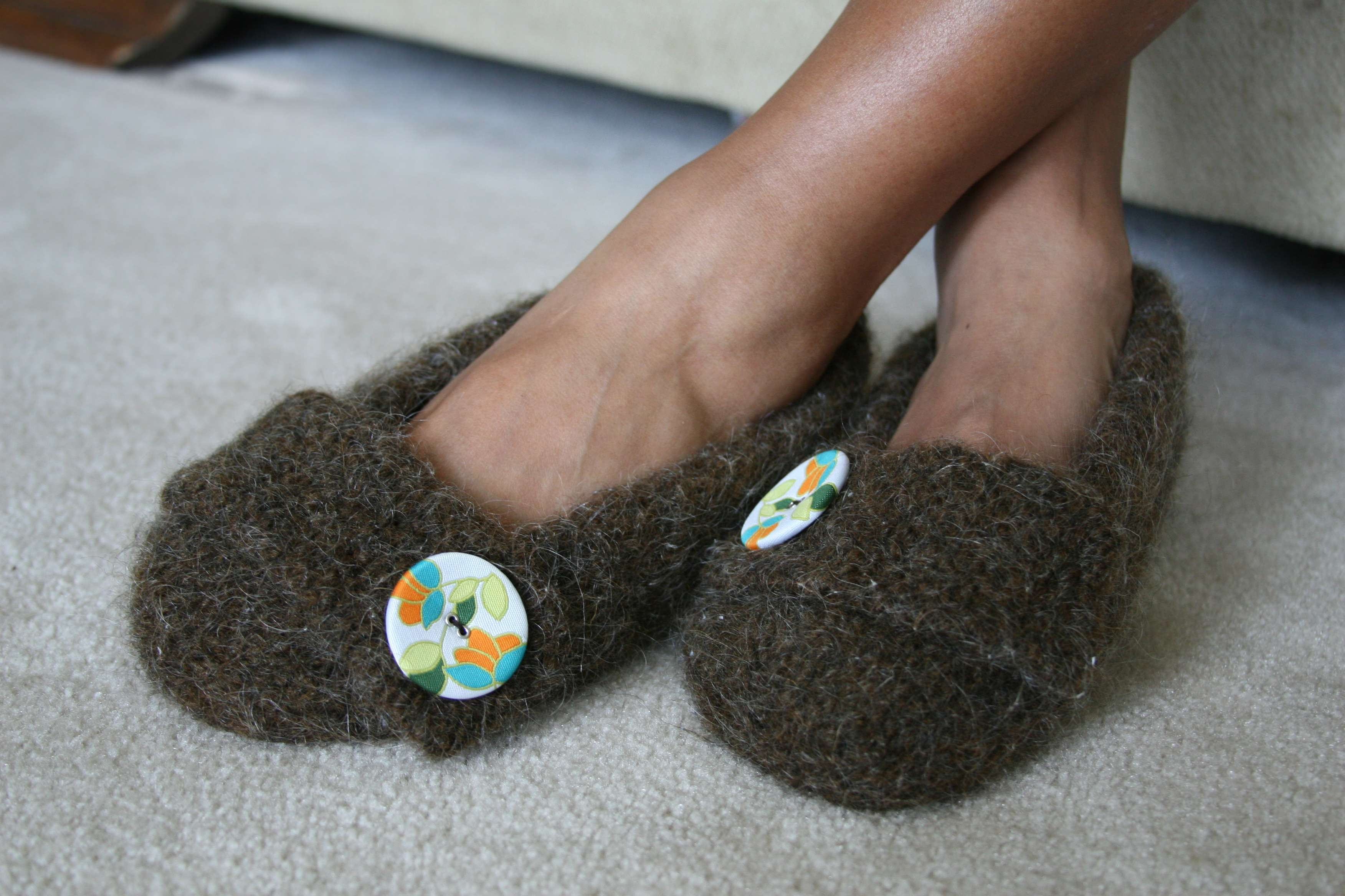 Felted Slippers « KB Looms Blog
