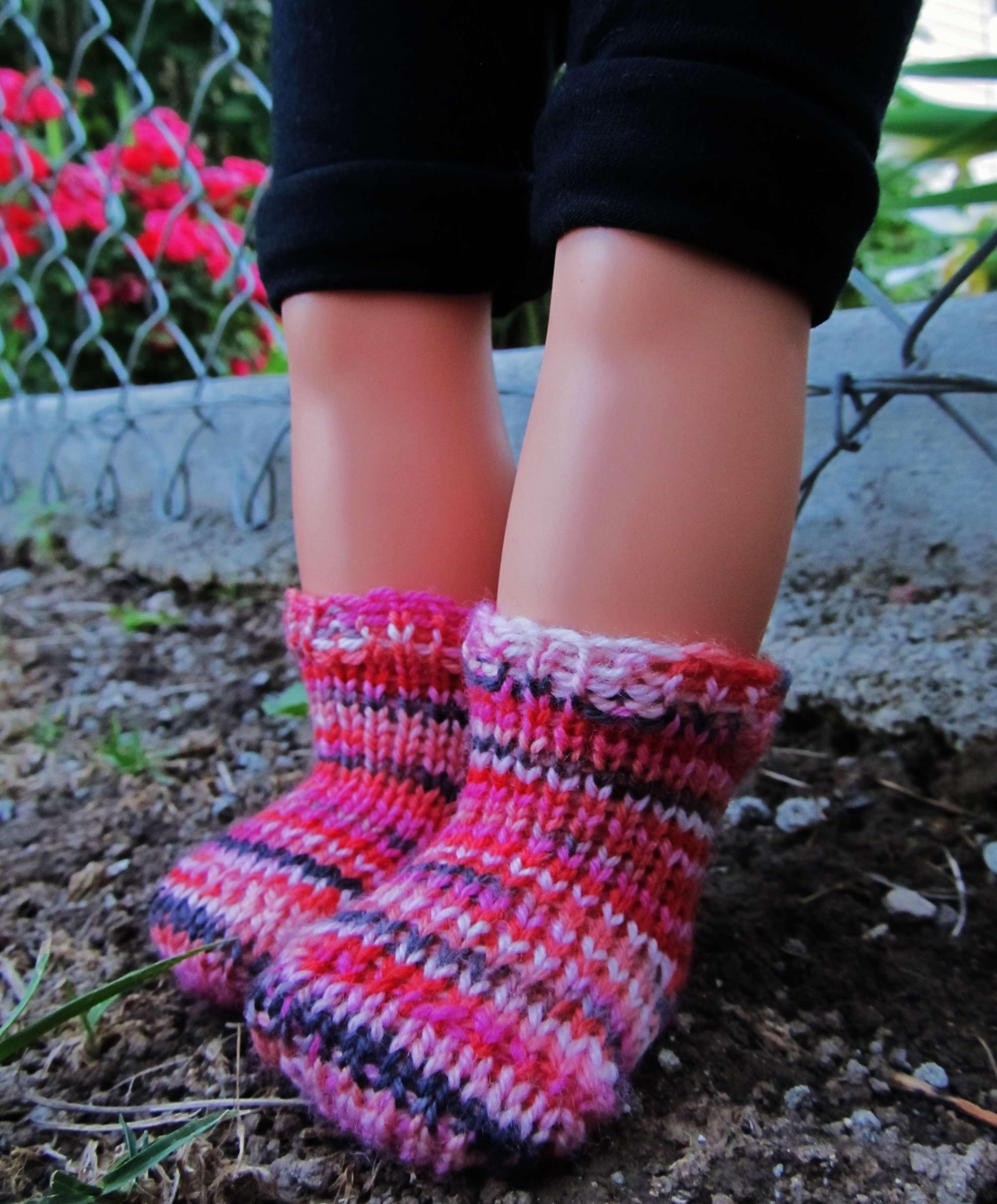 Whimsical Loom Knits Basic Socks For 18 Dolls Kb Looms Blog