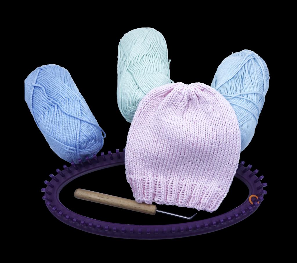 d343e8b18d2 Preemie Loom Knit Hat « KB Looms Blog