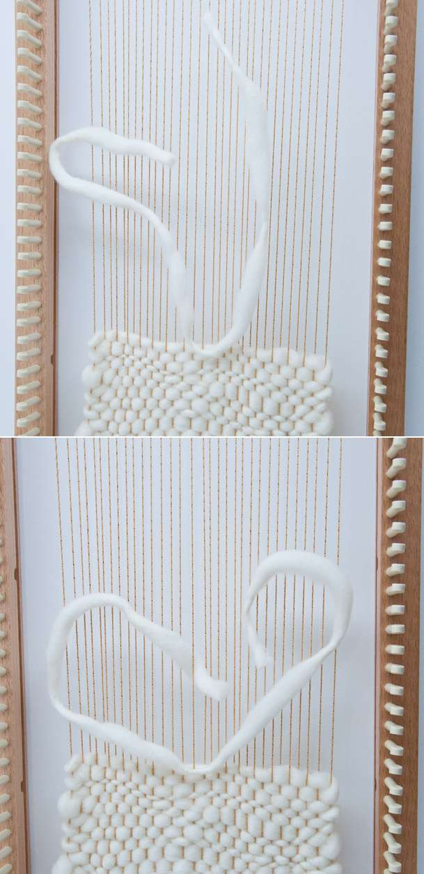 Rya Knot Weave on a Knitting Loom!