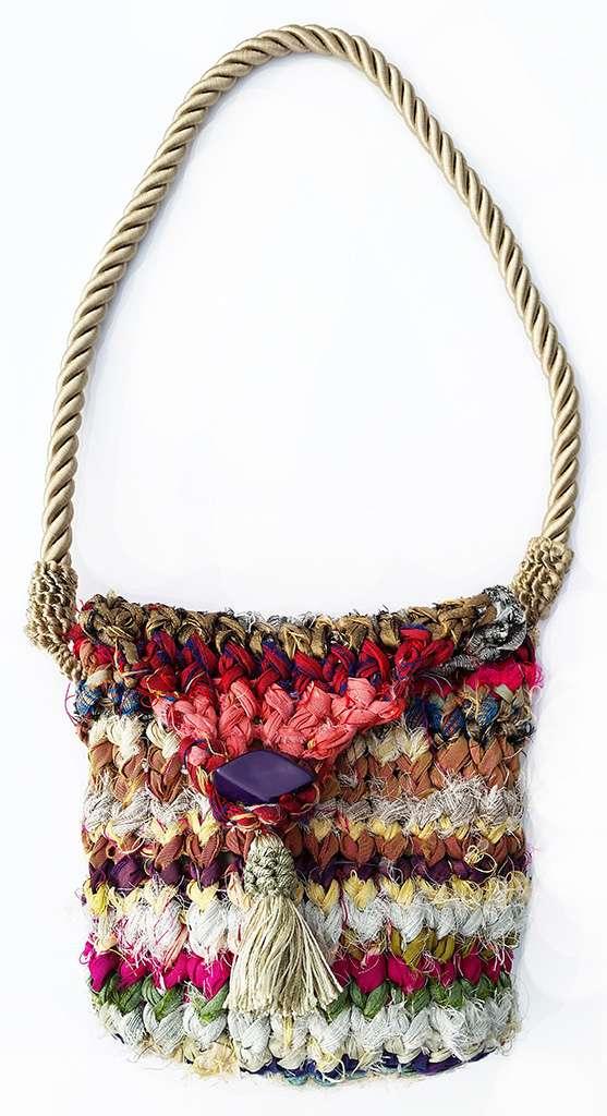 Silken Byways Handbag-front