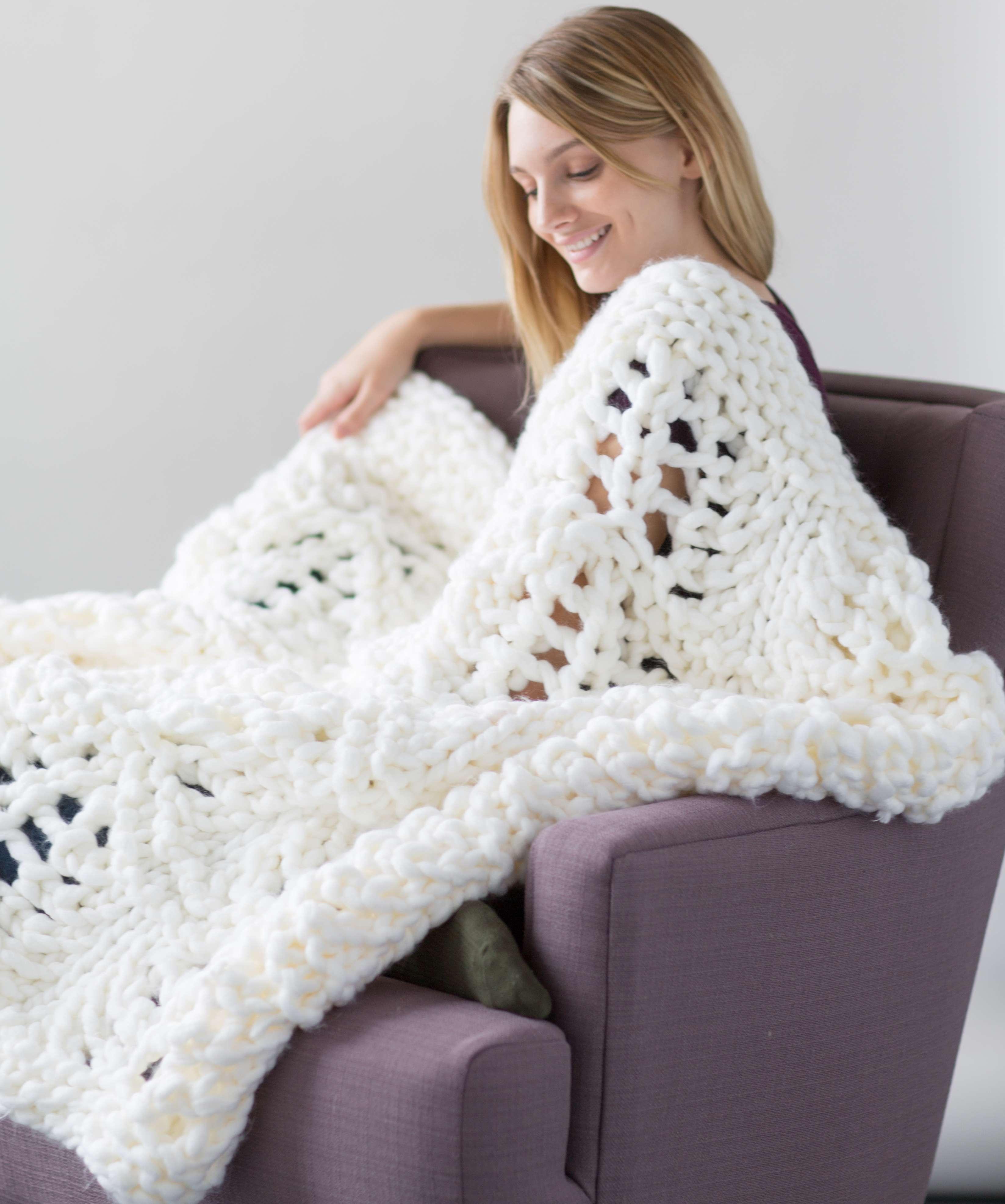White Pines Blanket « KB Looms Blog