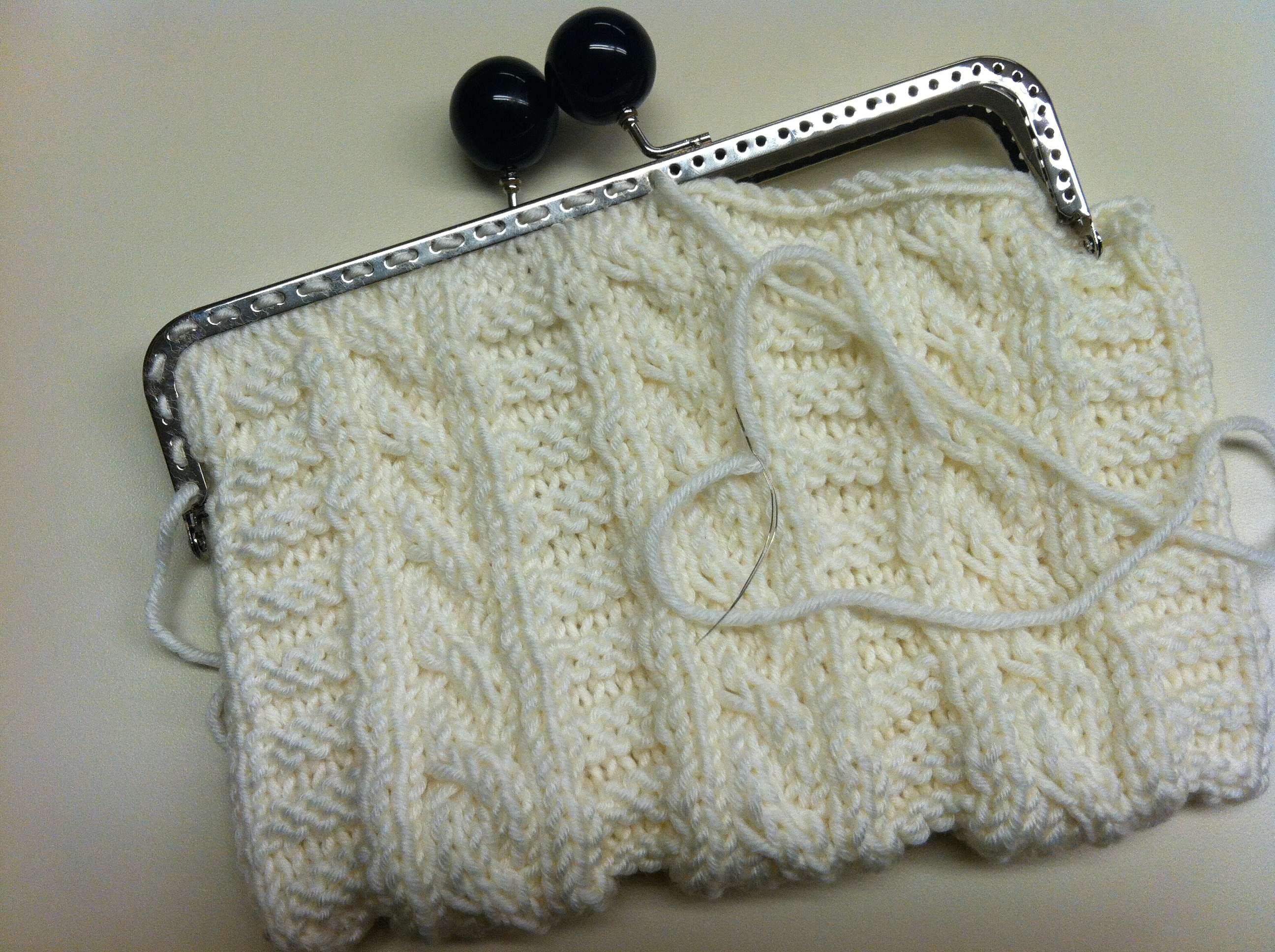 Kaylinn Clutch   Knitting Board Blog