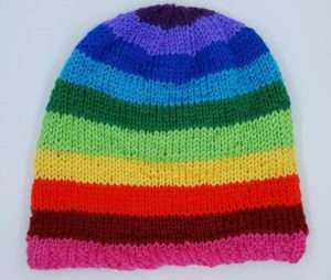 130a6d19efe Hat with decreased crown knit on the All-n-One loom. What loom can I use ...
