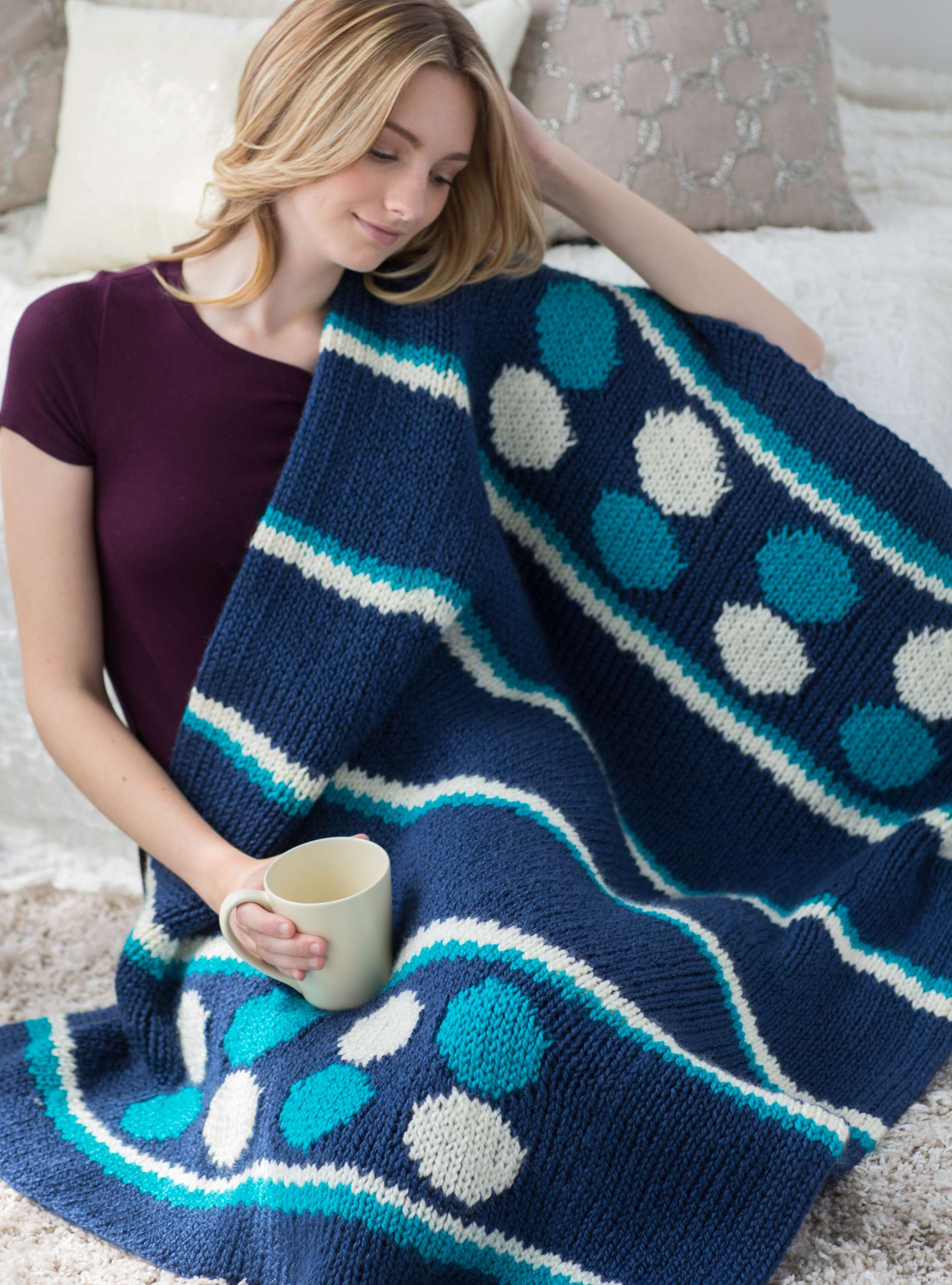 Sea Waves Afghan « KB Looms Blog