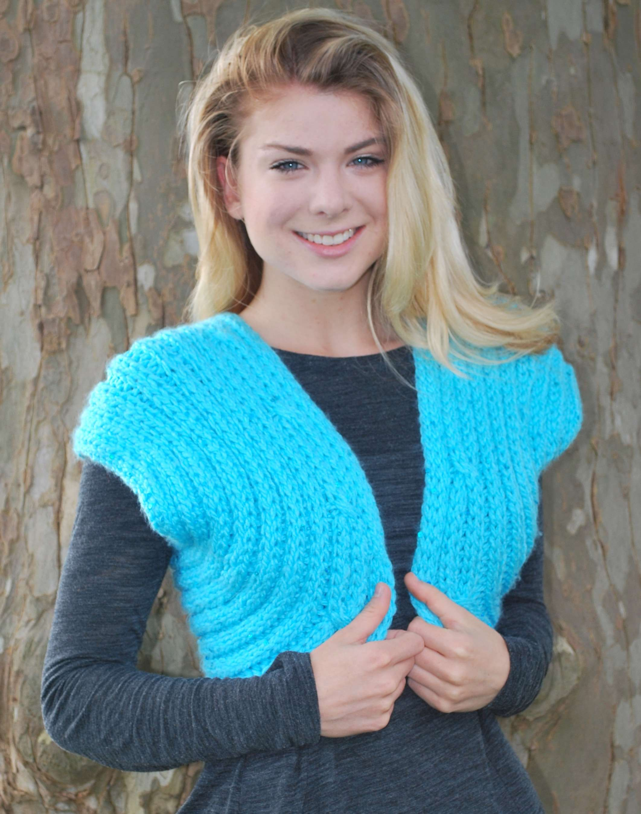 Shrug For Special Occasions Kb Looms Blog
