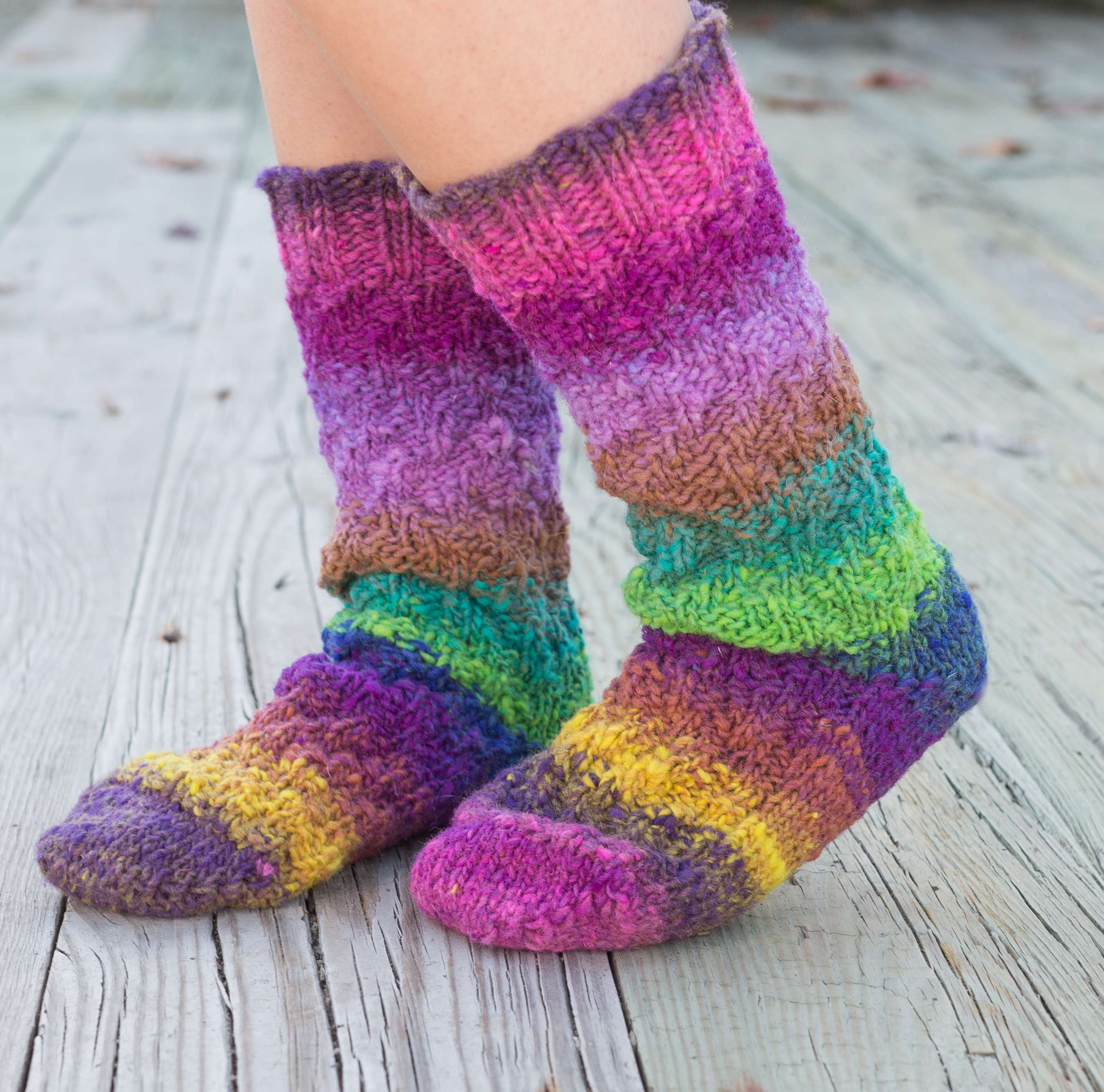 Socks / Slippers « KB Looms Blog