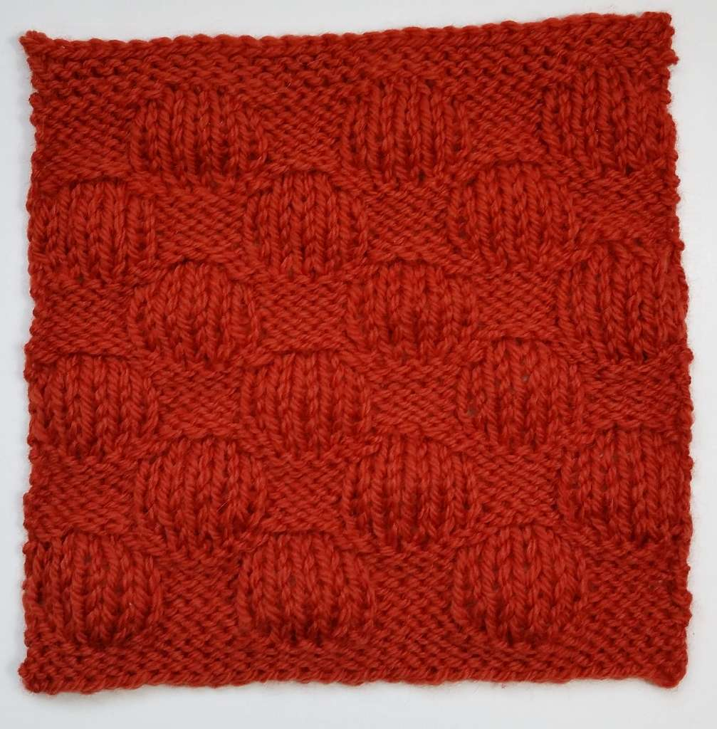 Puff Stitch Square