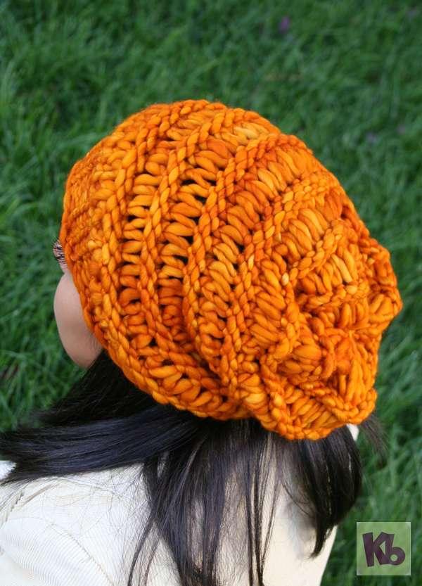 Autumn Slouchy Hat