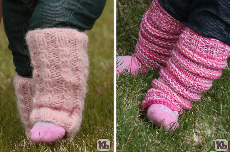 Baby Leg Warmers Set. Small Logojpg