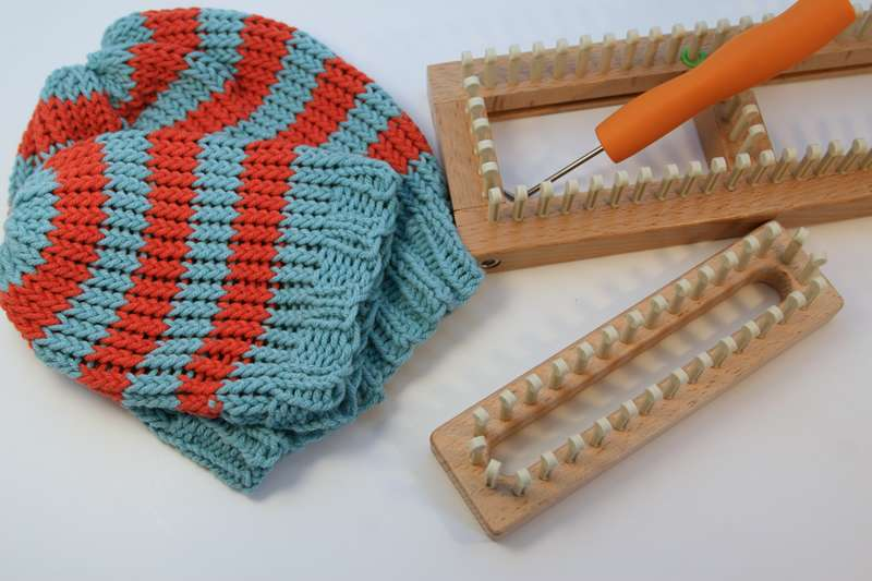 Basic Hats with looms smaller