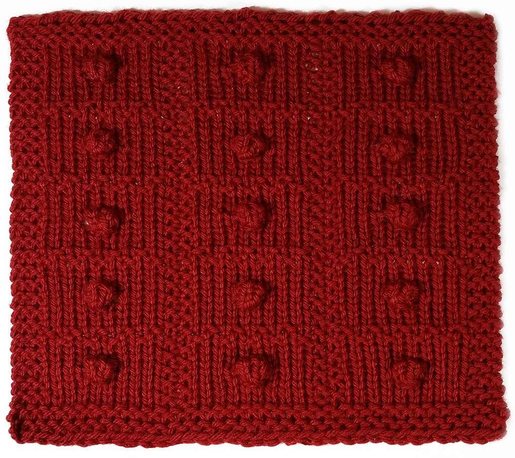 Bobbles and Seed Stitch: Stitchology 37