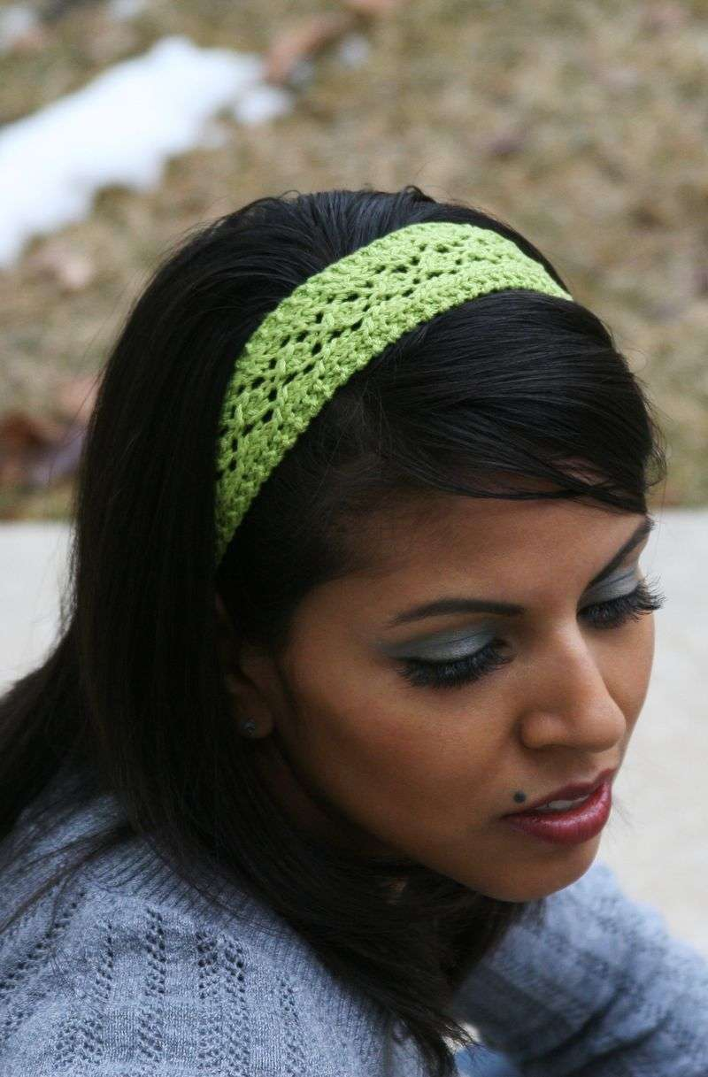 Free Knitted Headbands Patterns : Cat s Paw Headband   Knitting Board Blog