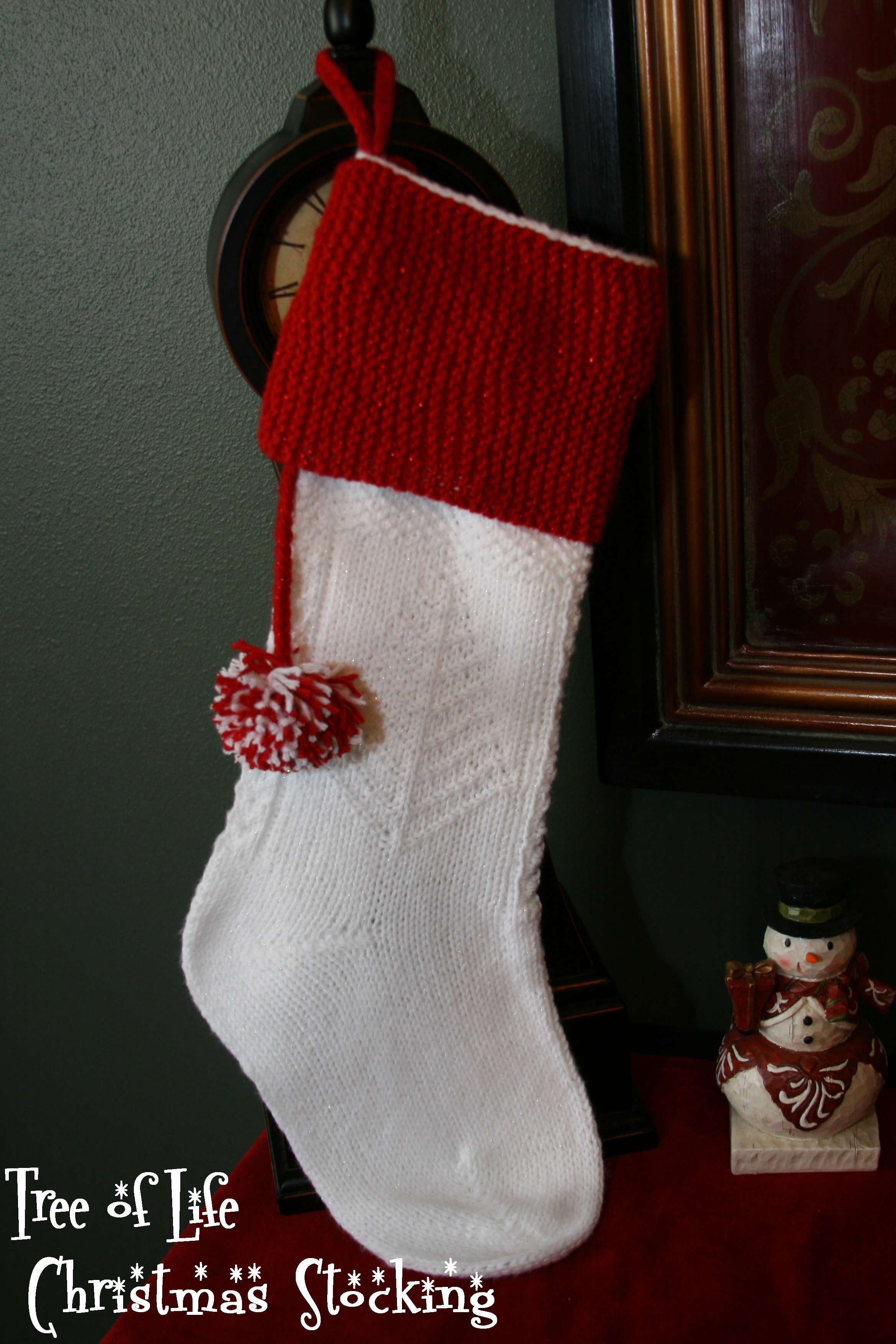Knit Pattern Christmas Stocking : Happy Holidays!!! Christmas Stocking Pattern   Knitting Board Blog