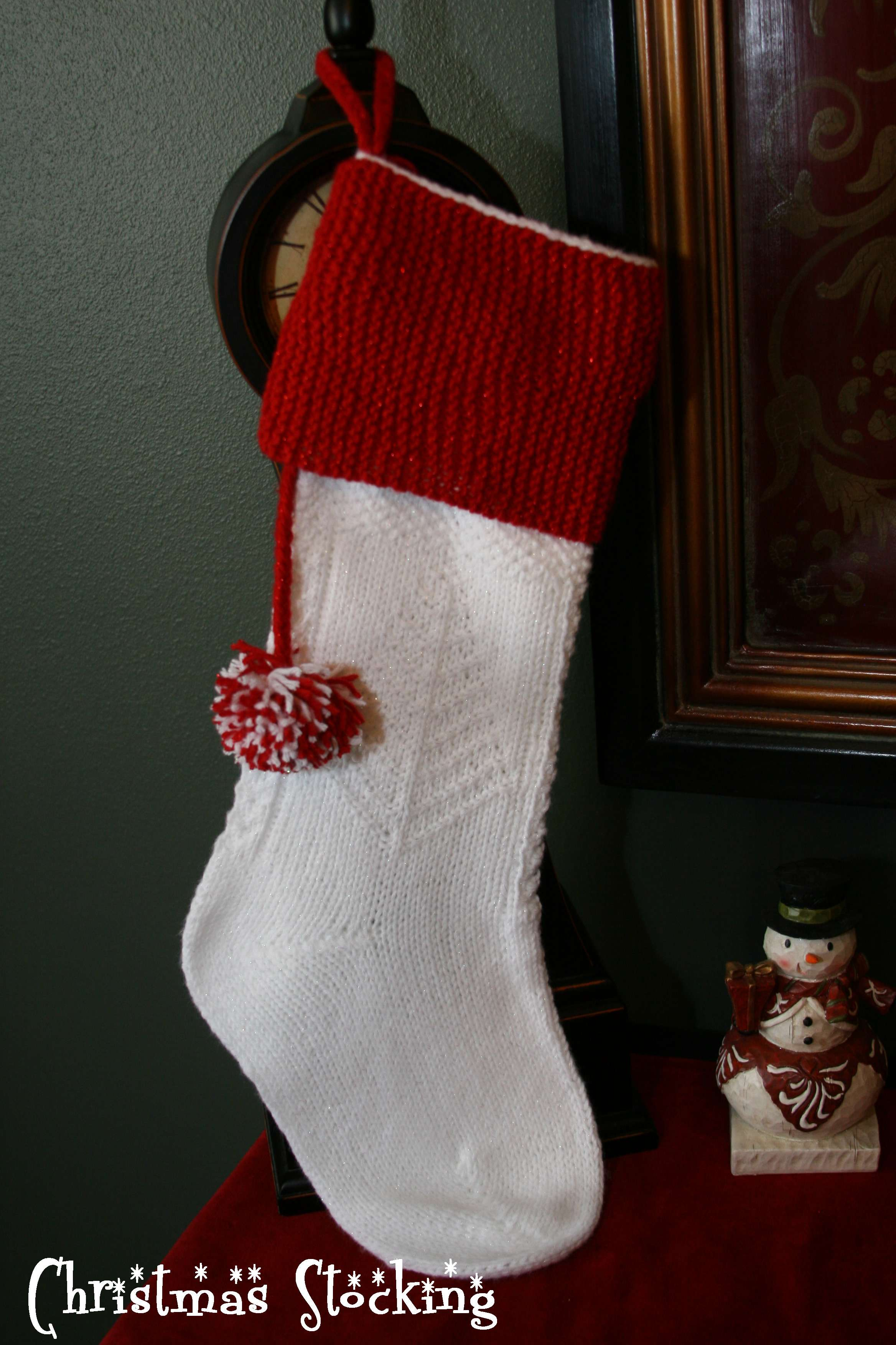 Happy Holidays!!! Christmas Stocking Pattern