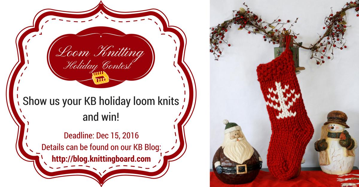 Loom Knit & Win