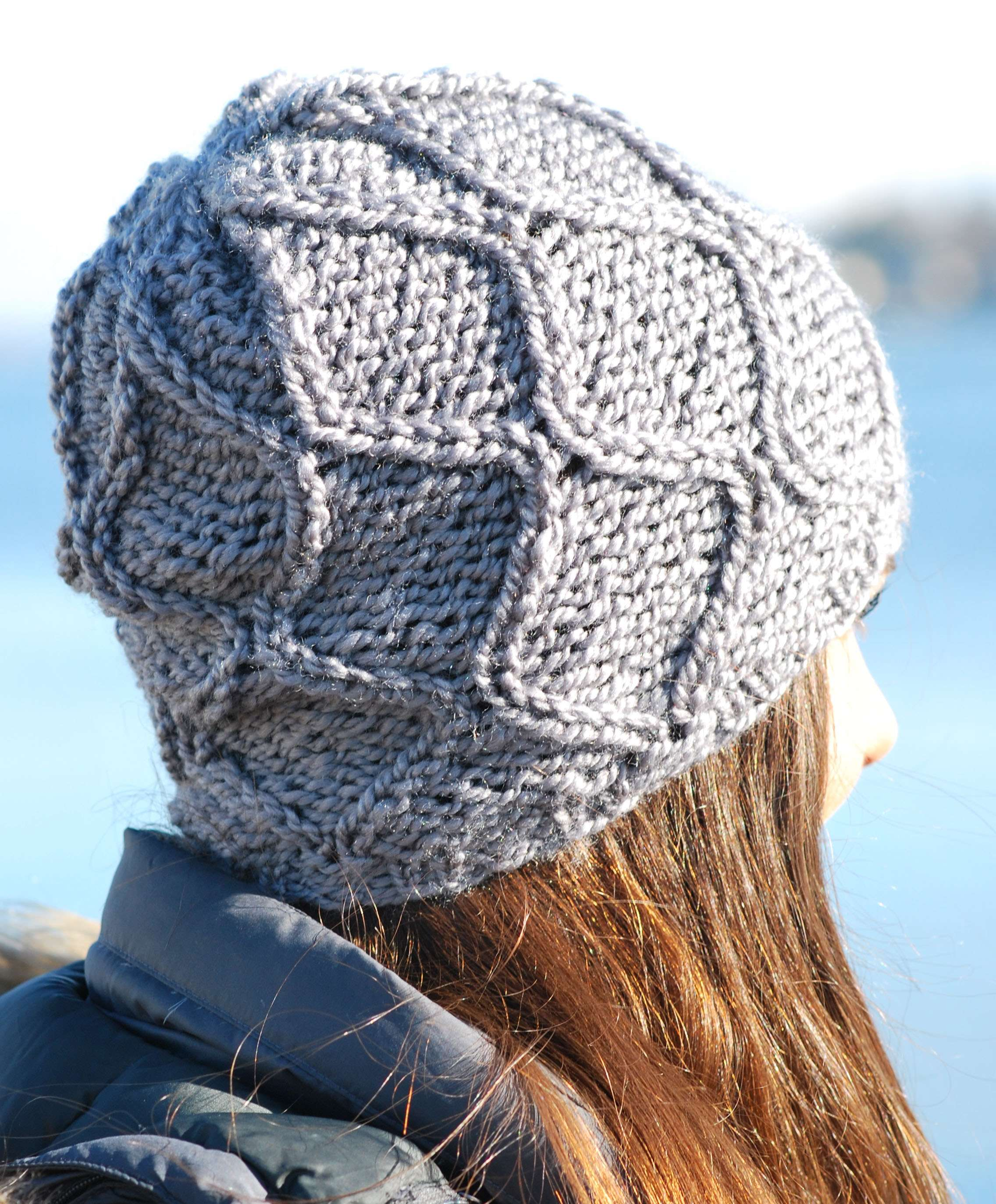 Hourglass Cable Hat