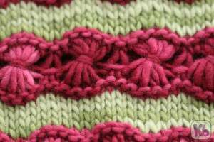 Daisy Stitch Close up