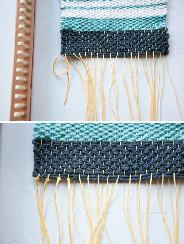 Tapestry Weave on a Knitting Loom! Part 2
