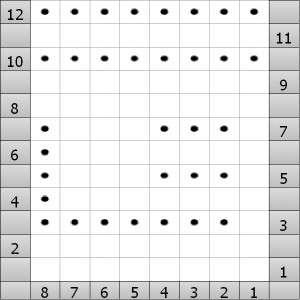 Flag Stitch Chart