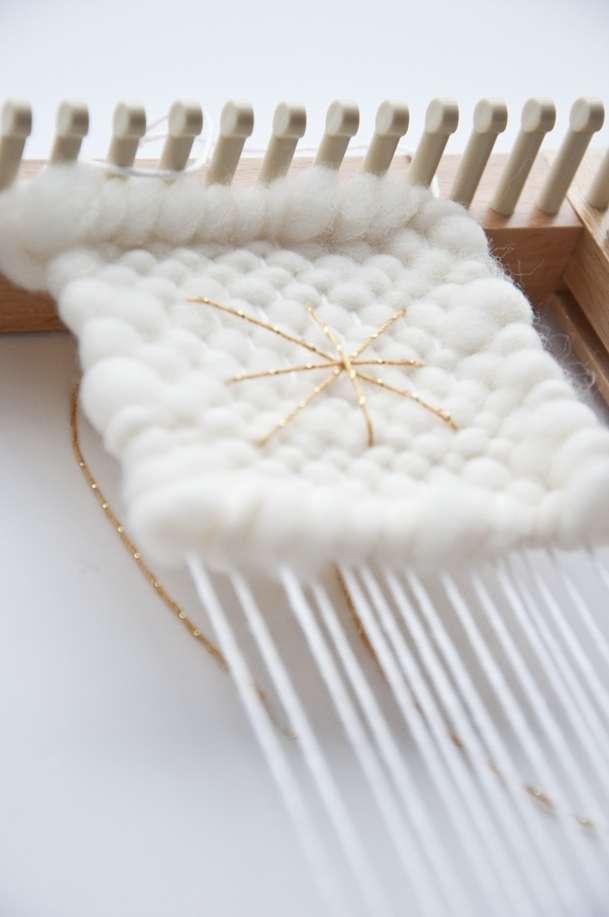 Loom Weaving: A Little Handmade Holiday