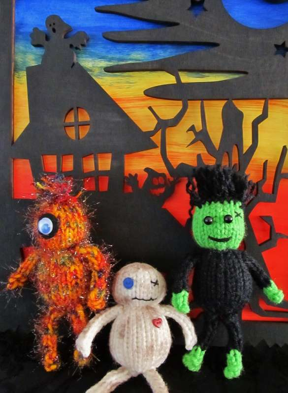 Whimsical Loom Knits – Mini Monsters!