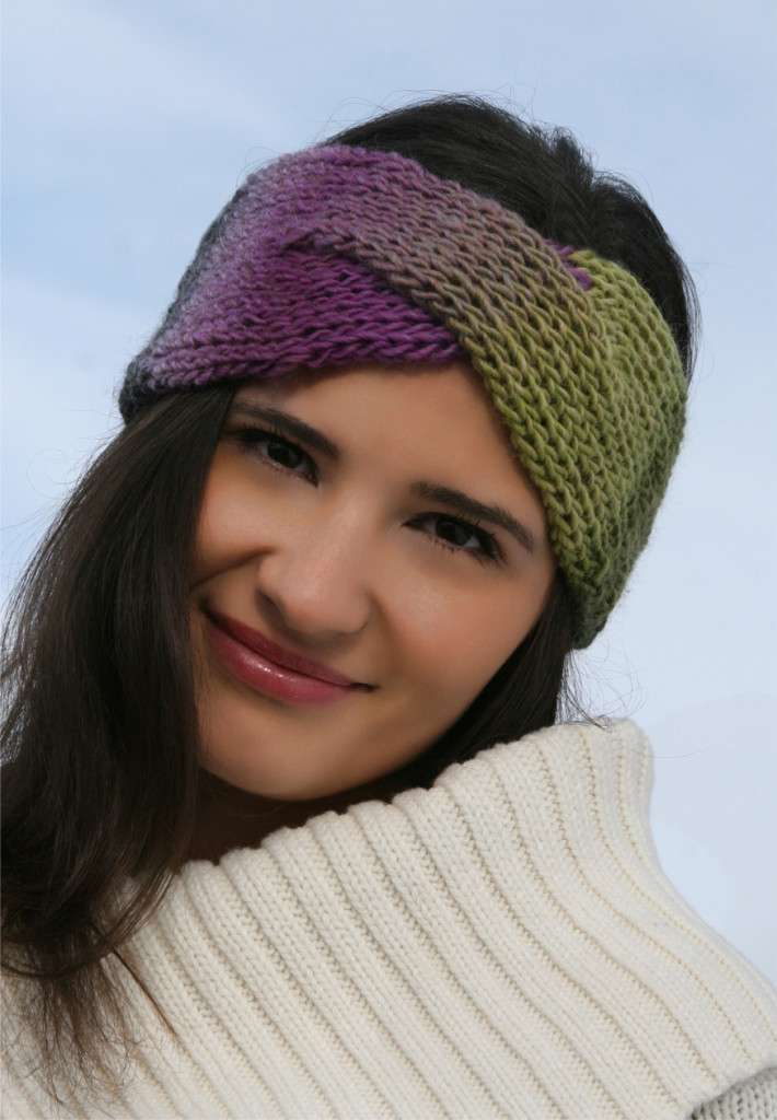 Twisted Headband Knit Pattern : Iva Headband   Knitting Board Blog