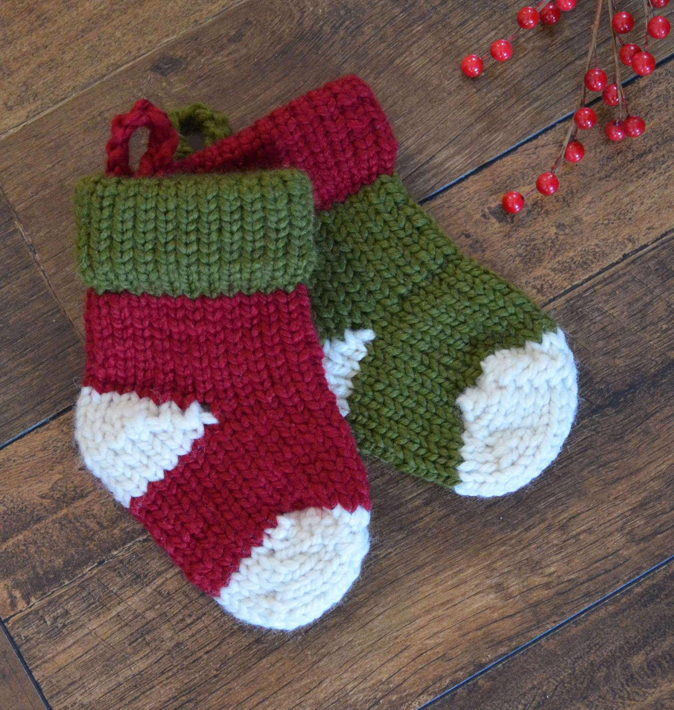 Little Christmas Stocking… quick knit
