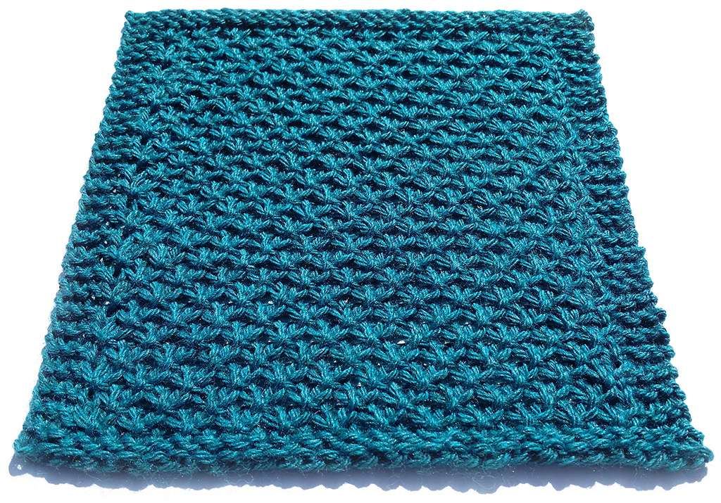 Mermaid Scales Stitch angle