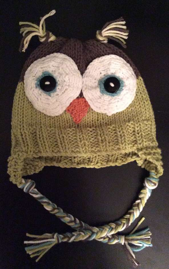 Owl Baby Hat KB Looms Blog Extraordinary Free Owl Hat Knitting Pattern