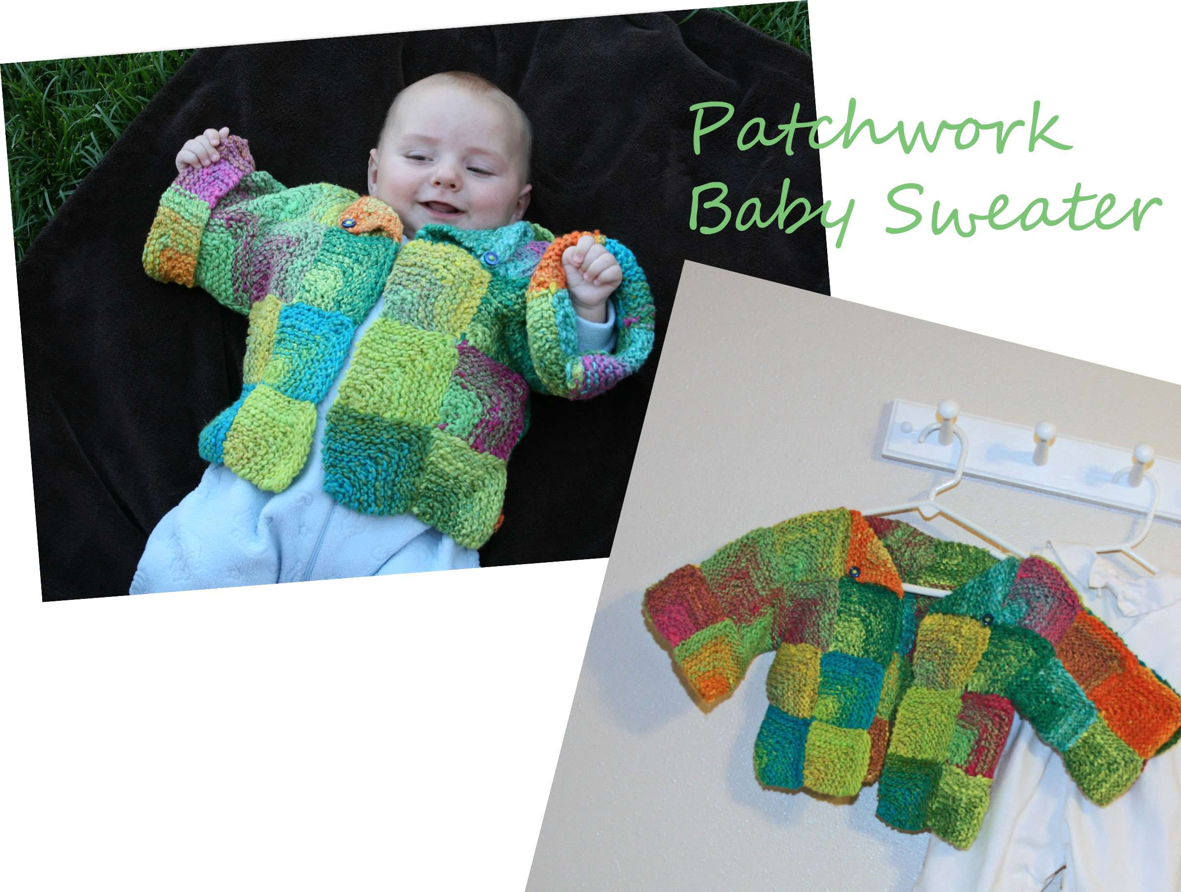 Patchwork Baby Sweater