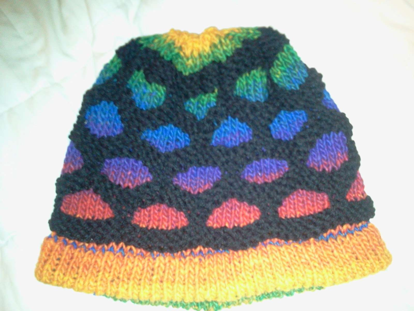 Paving Rainbow Stones Hat