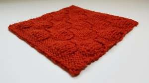 Puff Stitch Square-angle