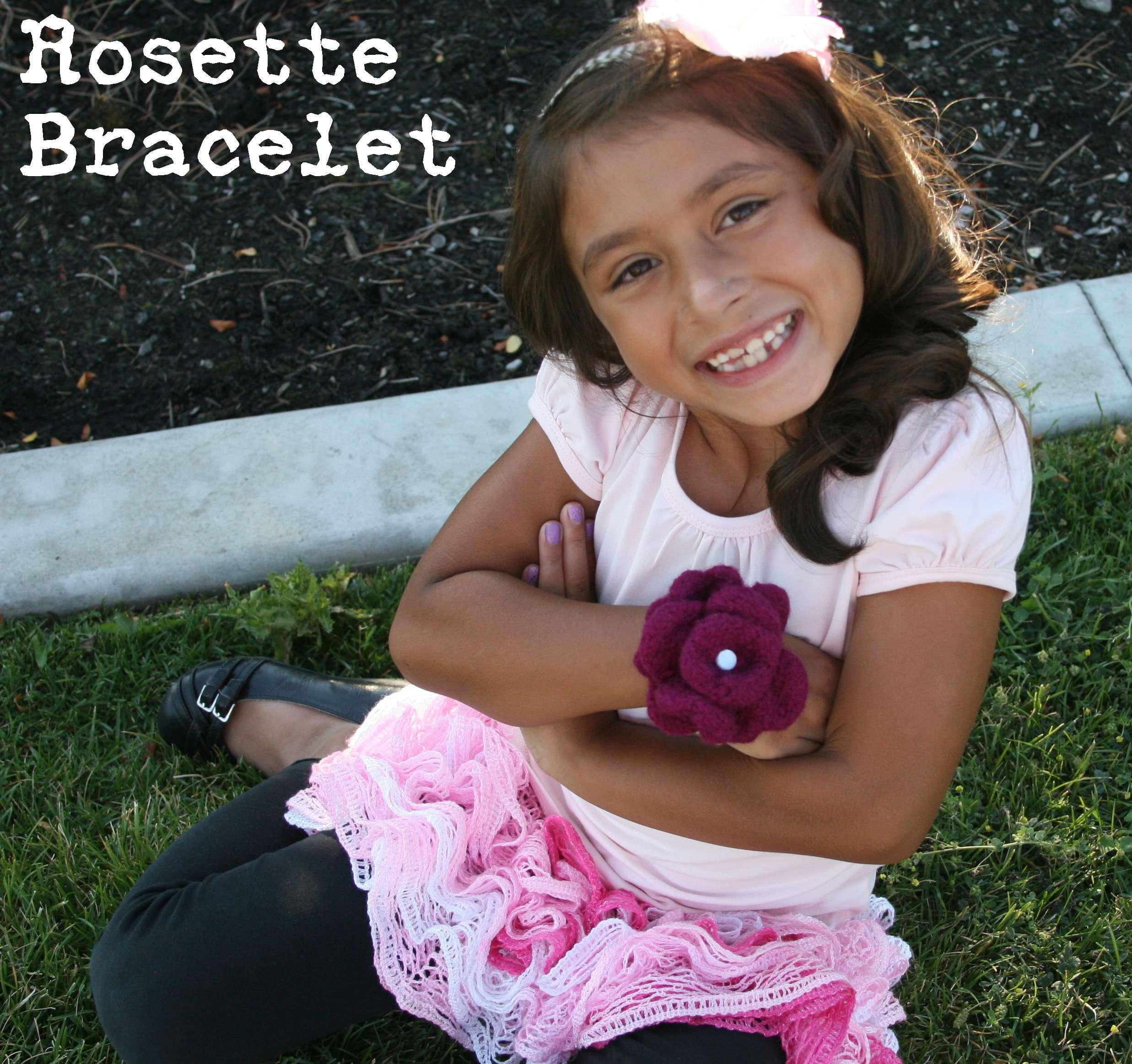 Rosette Bracelet Pattern