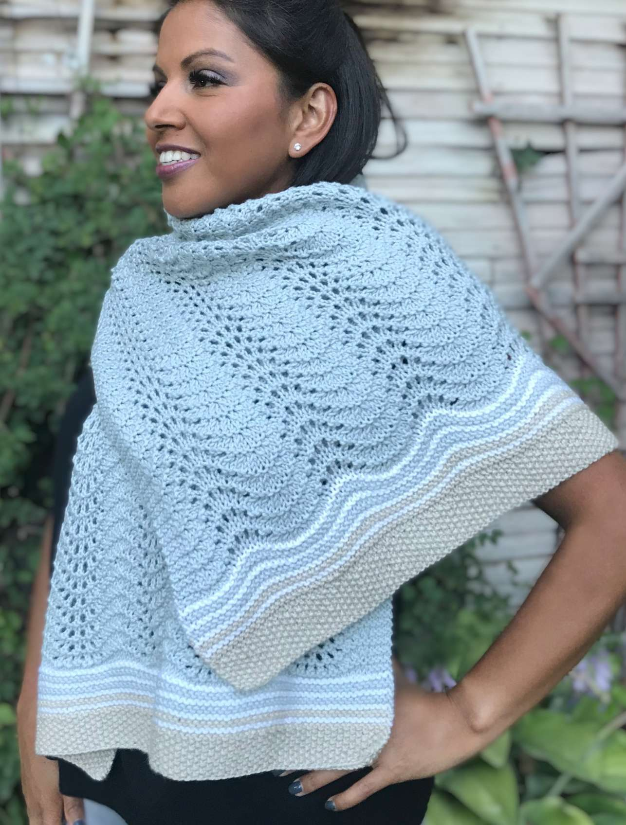 Huntington Vistas Shawl