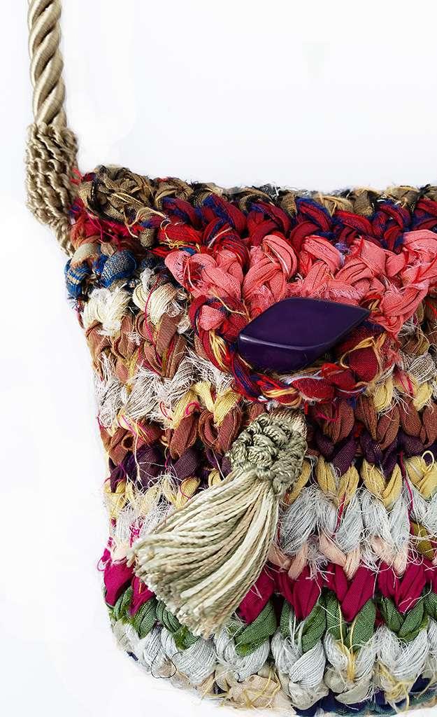 Silken Byways Handbag