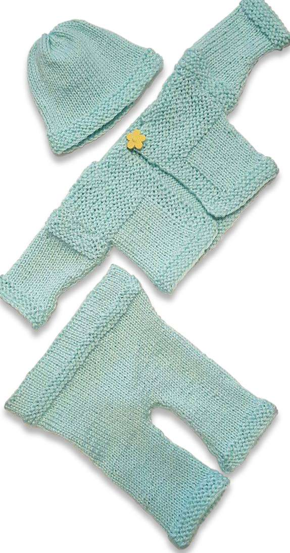 Simple Baby Layette Set