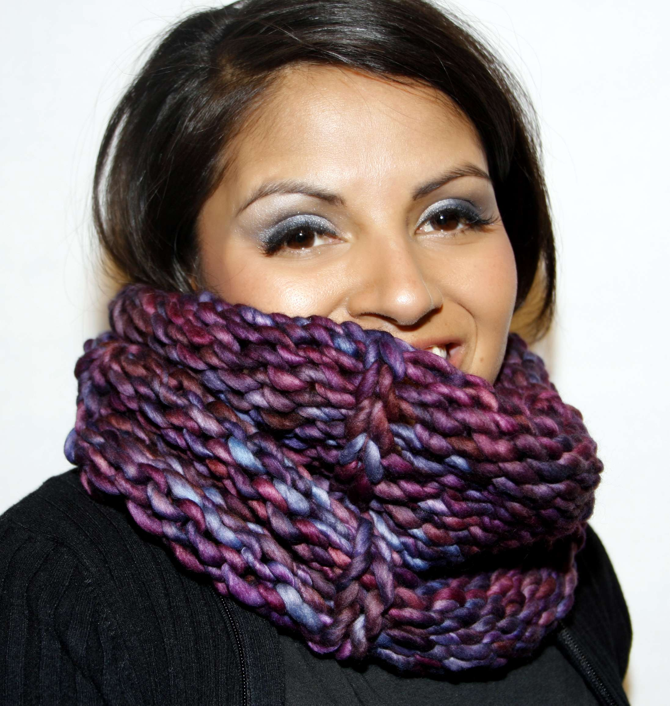 Slipped Purl Cowl