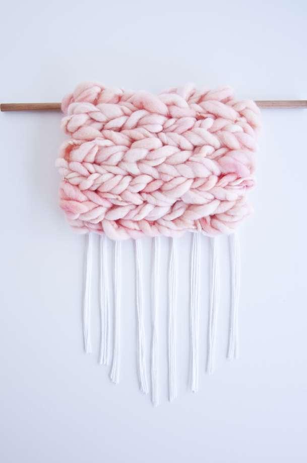 Loom Weaving: The Soumak Weave