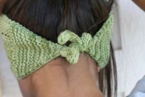 Trellis Headband Back