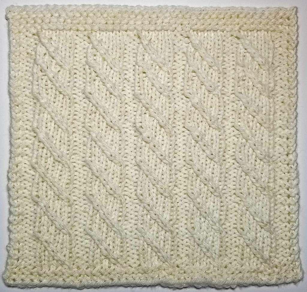 Twill Stripes Stitch: Stitchology 39