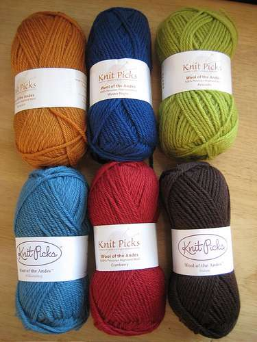 Yarn Yammer: Wool of the Andes