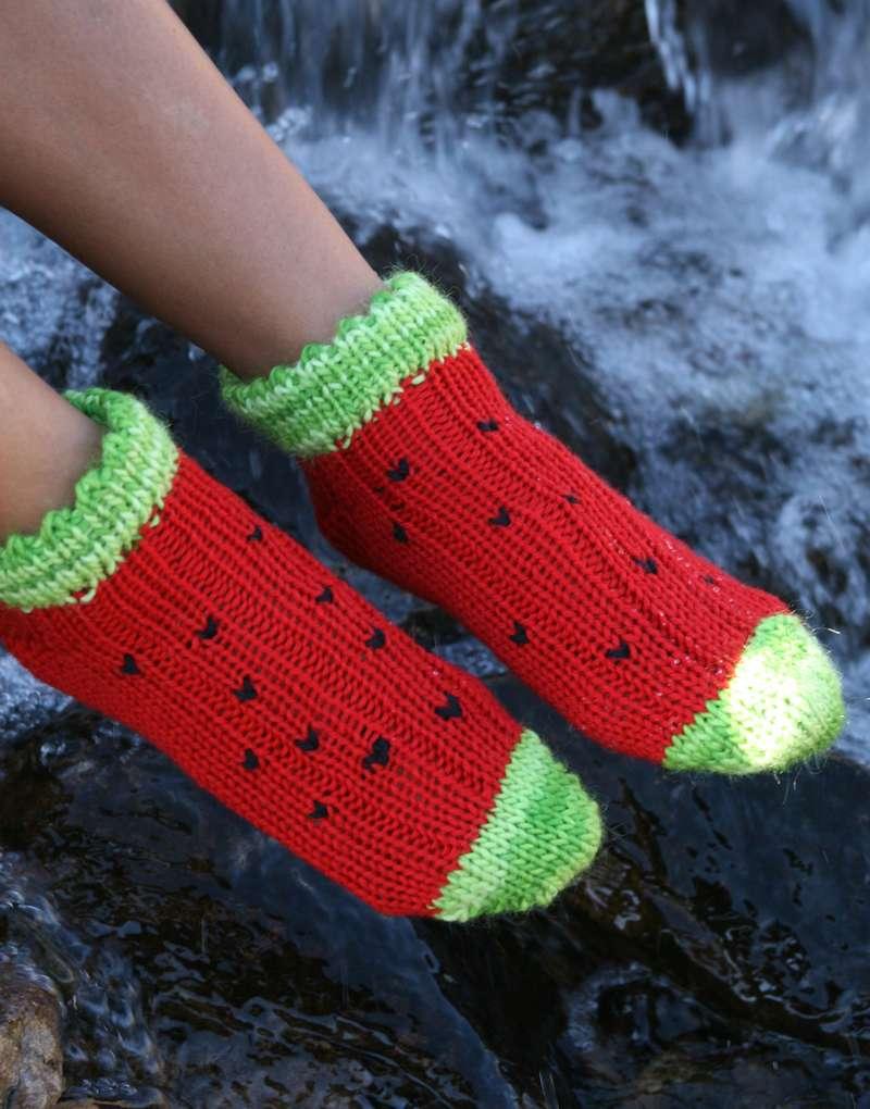 Shorty Watermelon Socks