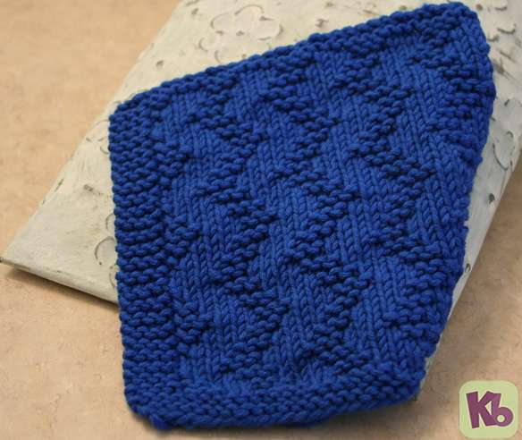 Zig Zag Stitch Knitting Loom : Zig Zag Dishcloth   Knitting Board Blog