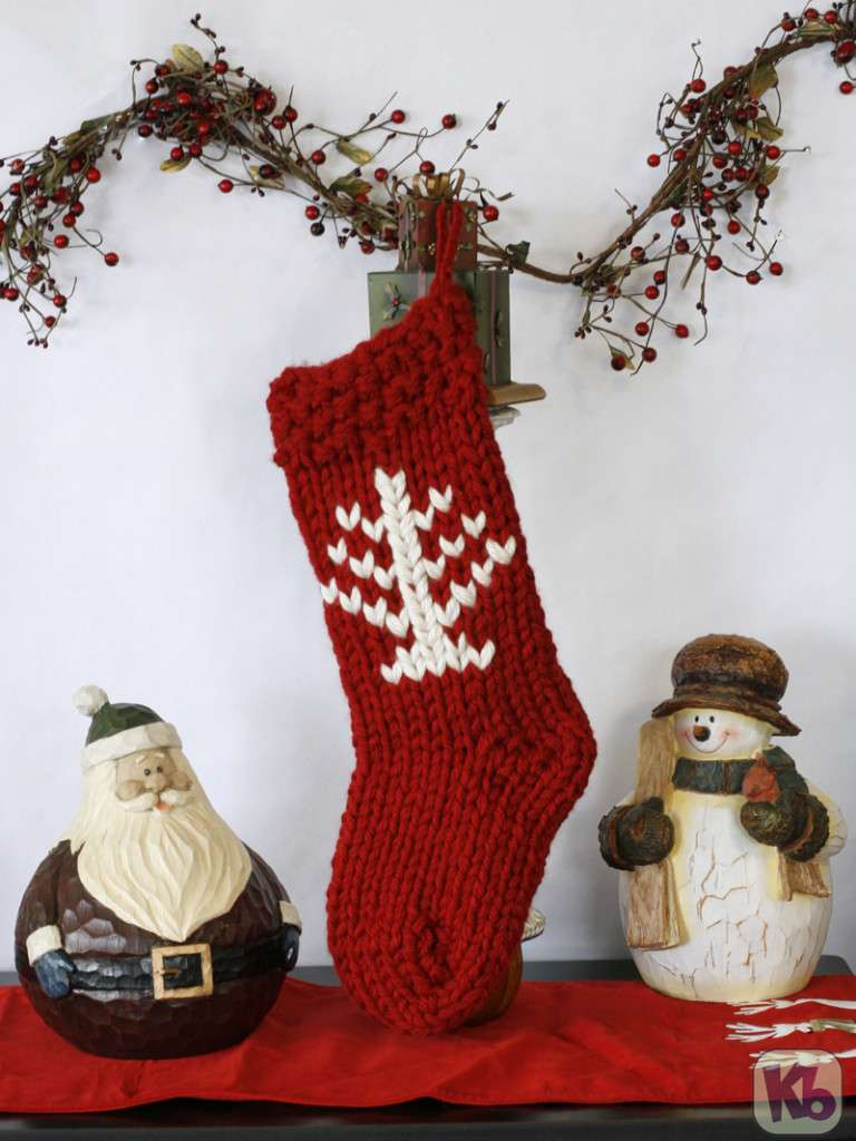 Zippy Christmas Stocking with logo
