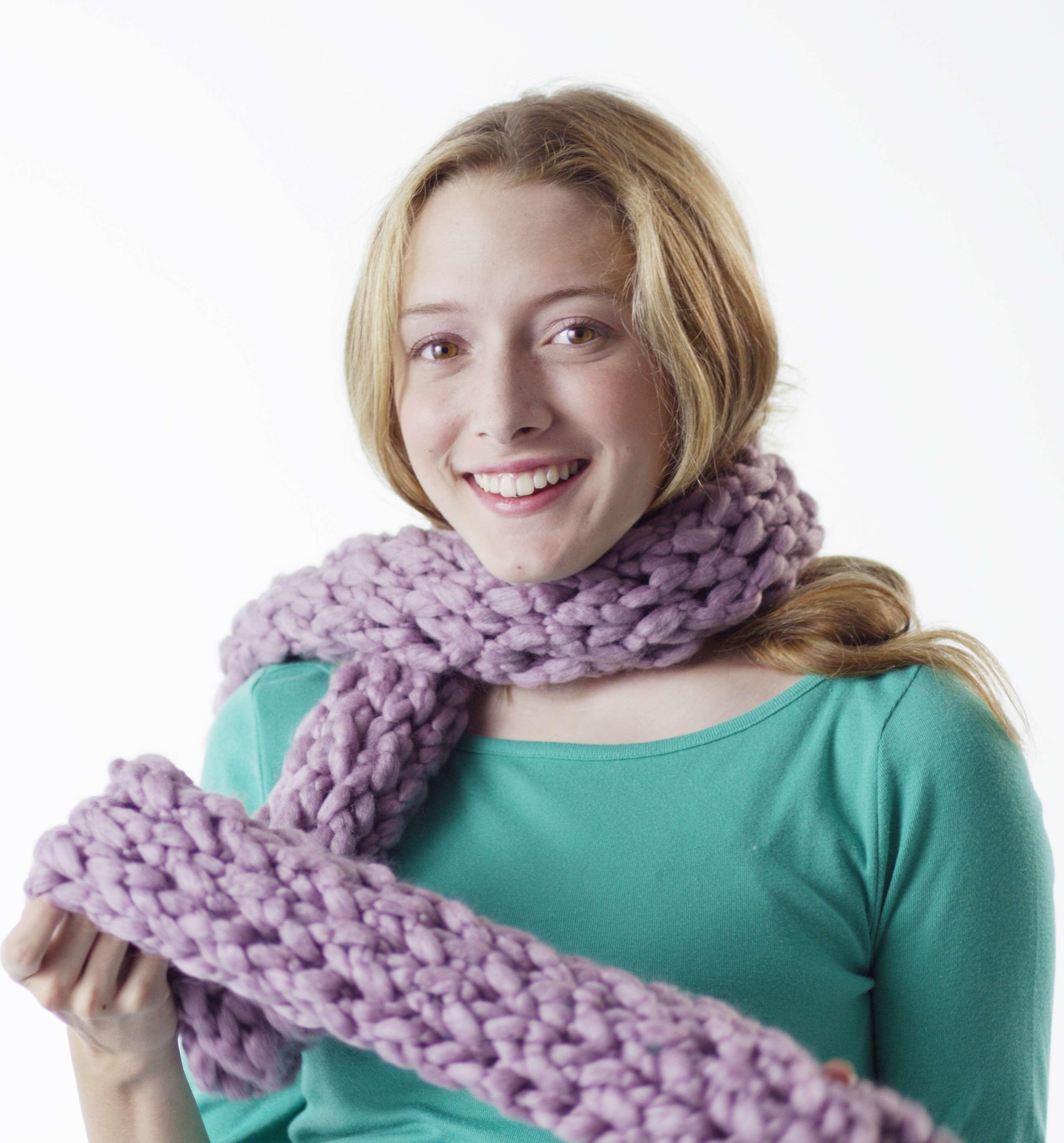 Zippy simple long scarf (72″ length)